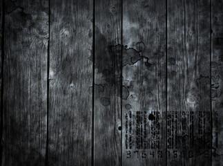 Wall Mural - schmutzige holzwand