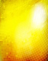 Golden business mosaic.Vector creative background. Eps10