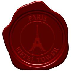 eiffel tower sealing wax