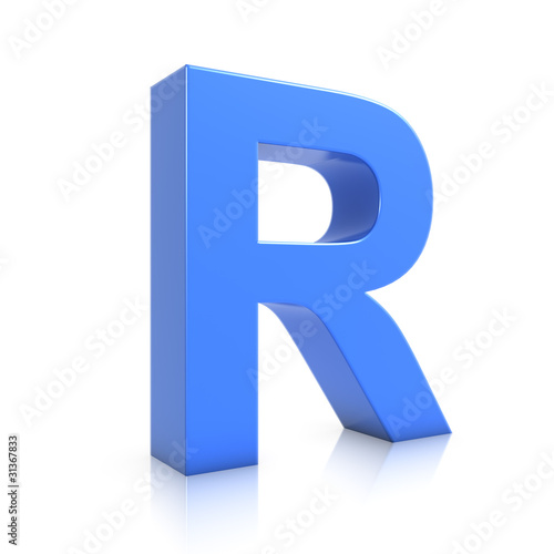 3d blue letter r stock photo and royalty free images on fotolia 3d blue letter r altavistaventures Image collections