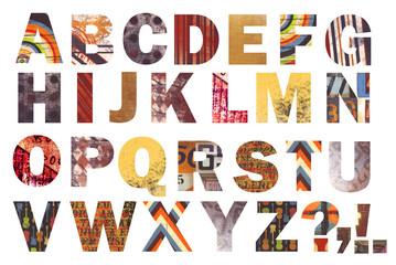 Exotic Alphabet!