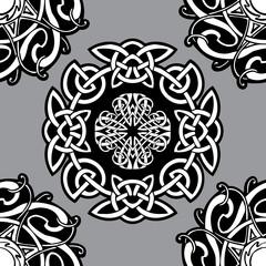 Celtic vector ornamental pattern.