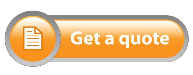 "Orange ""GET A QUOTE"" Vector Web Button"