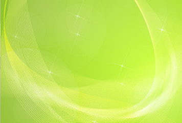 Abstract green summer background