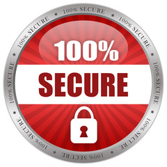Secure shiny icon