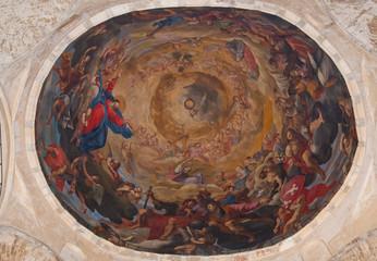 Affresco nella cupola del Duomo di Santa Maria Assunta