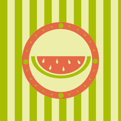 cute melon background