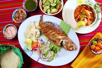 fried veracruzana grouper fish mexican seafood