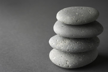 Fototapete - Stack of stones