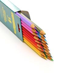 box of color pencils
