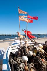 Fototapete - Fischerboot Usedom