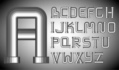 Funnels alphabet