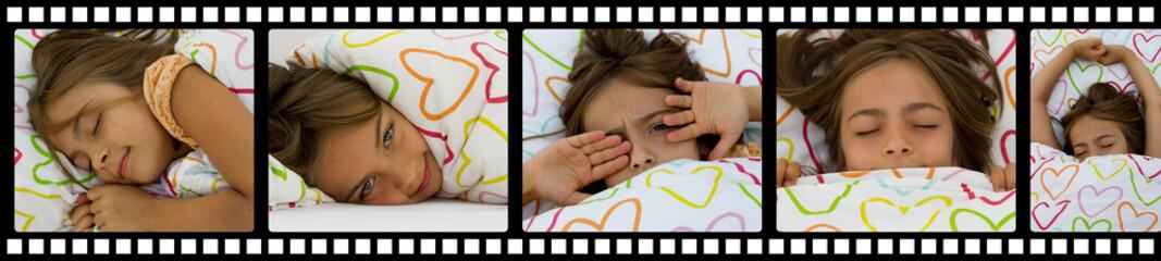 sommeil en négatif photo