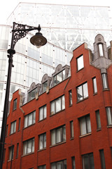 London, new and old architecture style