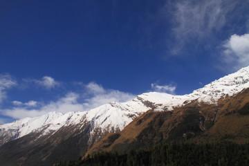 Dhaulagiri and Blue Sky