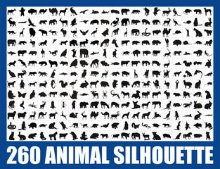 260 animal silhouette