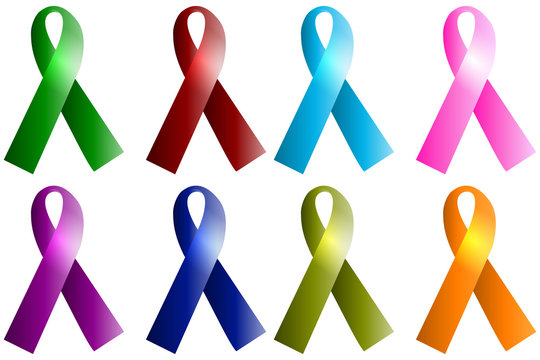 AIDS ribbons