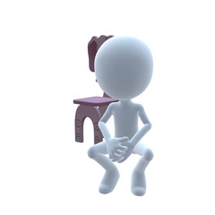 3D Guy Elephant Child's Chair