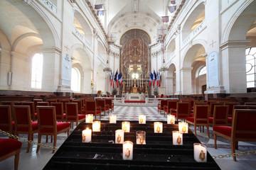 Inside Cathedral of St. Louis (Saint-Louis-des-Invalides)