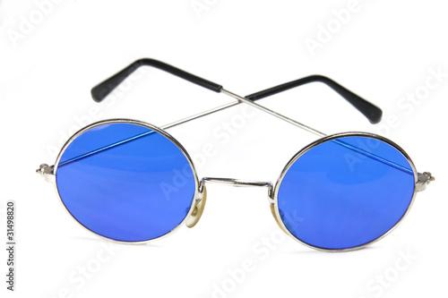 kreisrunde blaue sonnenbrille stockfotos und lizenzfreie bilder auf bild 31498820. Black Bedroom Furniture Sets. Home Design Ideas