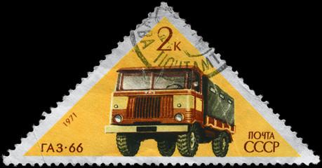 USSR - CIRCA 1971 GAZ-66