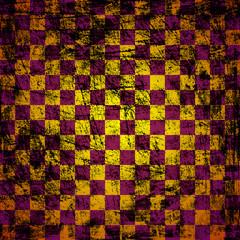 grunge chessboard background