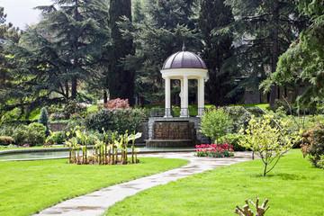 Arbor in the park