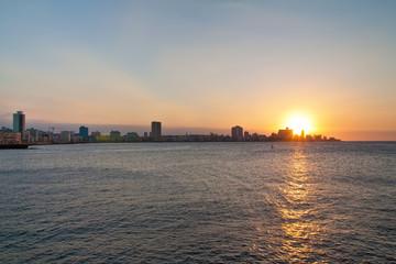 Sunset in Havana