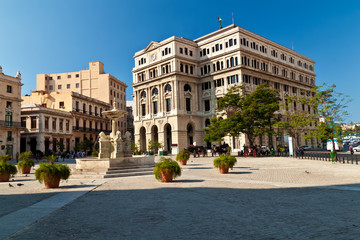 San Francisco square in Old Havana