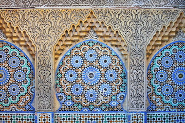 Traditional moroccan ornament