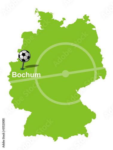 Fussballstadt Rostock Deutschlandkarte Stockfotos Und Lizenzfreie