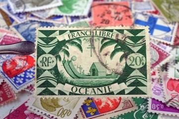 timbres - philatélie France