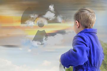 Radioaktive Wolke