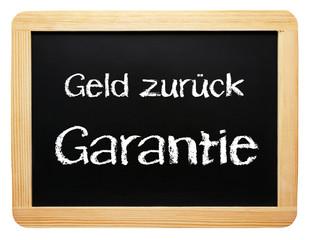 Geld zurück Garantie - Konzept Handel & Verkauf