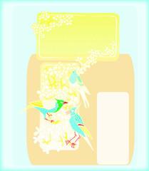 Beautiful Birds Background
