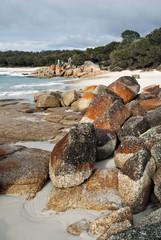 Bay of Fires beach, Tasmania, Australia