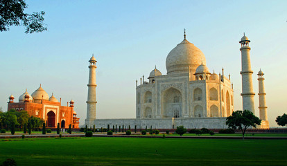 Tajmahal in the morning