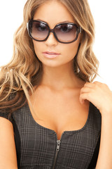lovely woman in shades