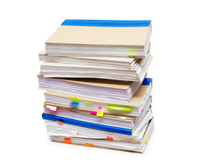 Pack of account books