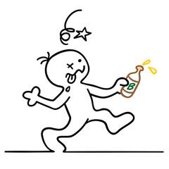Bilder und videos suchen betrunkener for Boden cartoon