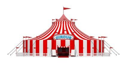 Circus Invitation with beautiful invitations template