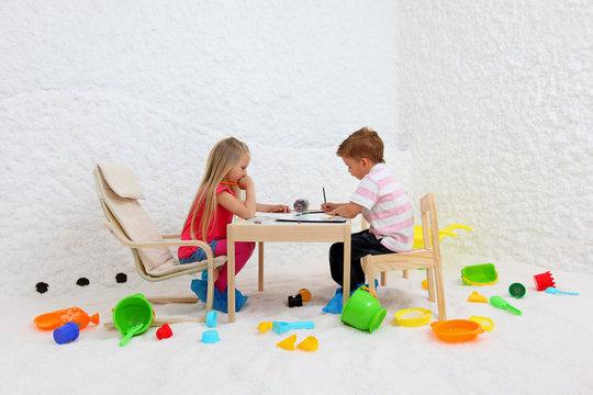 child play in salt room