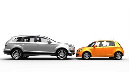 SUV vs small city car