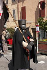 chevalier casque templier