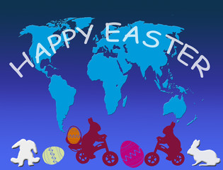 Happy Easter in all world