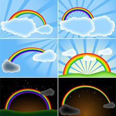 Regenbogen Sammlung
