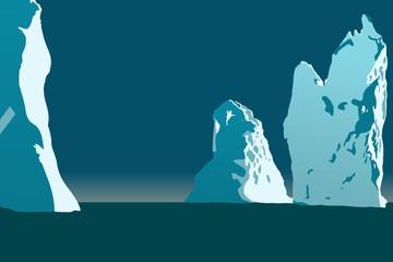 vector iceberg