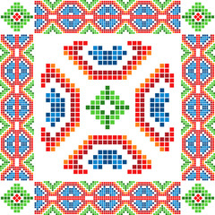 Abstract ethnic ornament 08