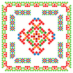 Abstract ethnic ornament 07