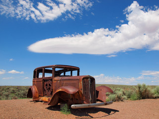 OLD RUSTY FORD ROUTE66
